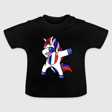 France football licorne Dab WM - T-shirt Bébé
