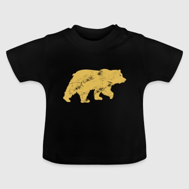 Grizzly Grizzly Bear Protection des animaux - T-shirt Bébé