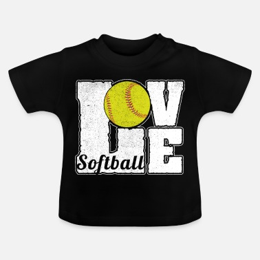 Softball SOFTBALL LOVE - Camiseta bebé