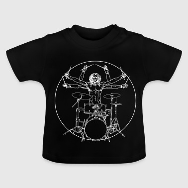 Da Vinci Rocks drums - T-shirt Bébé