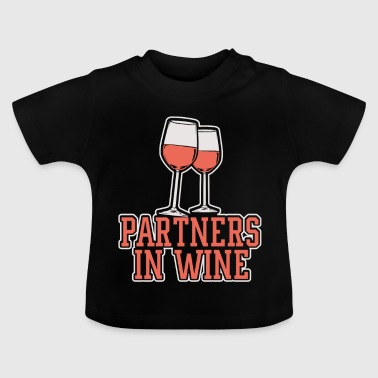 Partner Partner in wijn - Baby T-shirt
