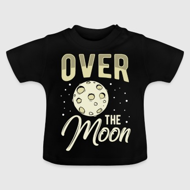 Space Space Space Moon Planet Space Star Idea - Baby T-Shirt