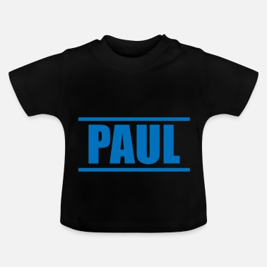 Presenteren Presenteer je voornaam - Paul! - Baby T-shirt