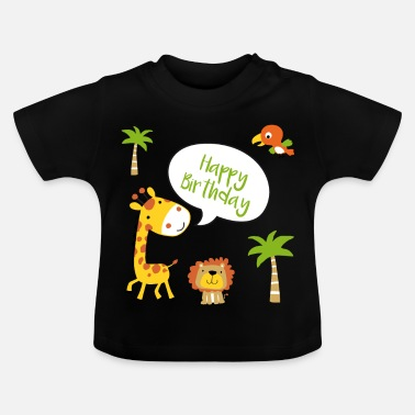 Happy Birthday Happy Birthday Happy Birthday - Baby T-Shirt