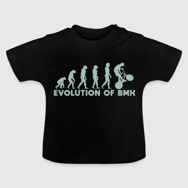 Evolution of the BMX Christmas Gift saying - Baby T-Shirt