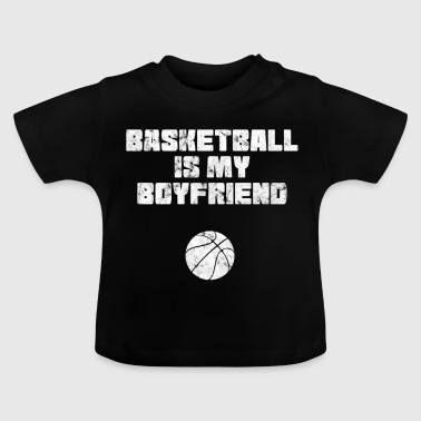 Basketball Spruch lustig Basketballer - Baby T-Shirt