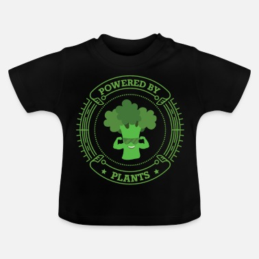 Health Powered By Plants Végétarien Vegan Health - T-shirt Bébé