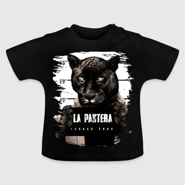 Animal Print Black Panther - Baby T-shirt