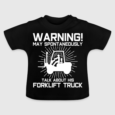 Warehouse forklift - Baby T-Shirt