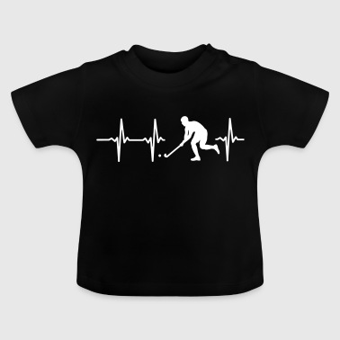 MY HEART BEATS FOR HOCKEY! - Baby T-Shirt