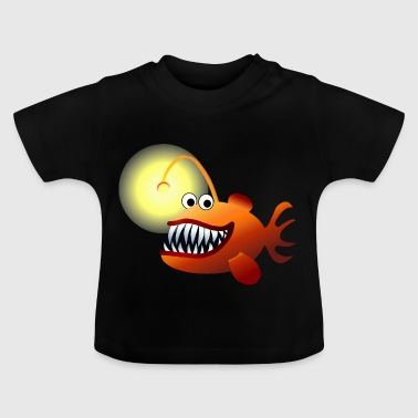 Tiefsee-Anglerfisch - Baby T-Shirt