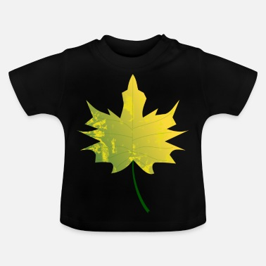 Leaf Maple Leaf - Maple à l'automne - T-shirt Bébé