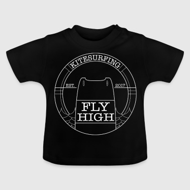 Kitesurf Fly High Kiteboard blanc - T-shirt Bébé