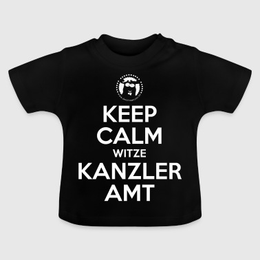 Keep Calm Chokes Canciller Office - Ministerios de AT - Camiseta bebé