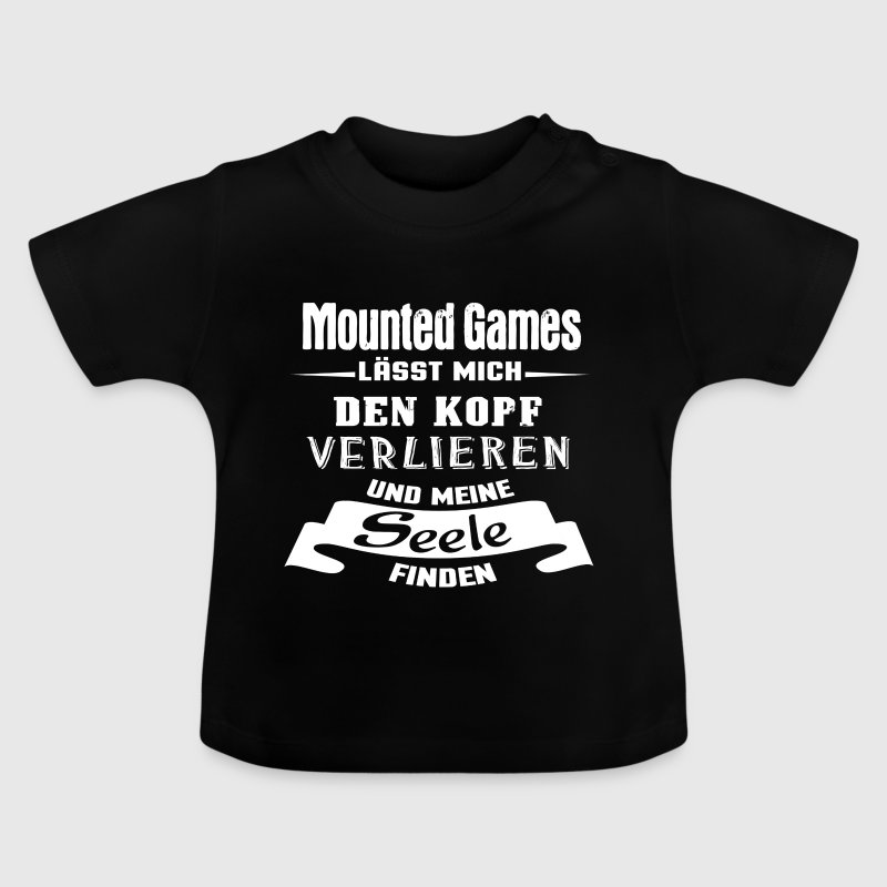 Mounted Games - Seele - Baby T-Shirt