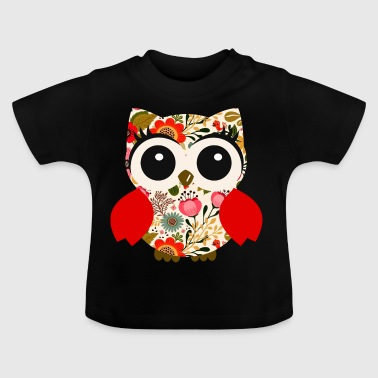 Eule-Folklore - Baby T-Shirt