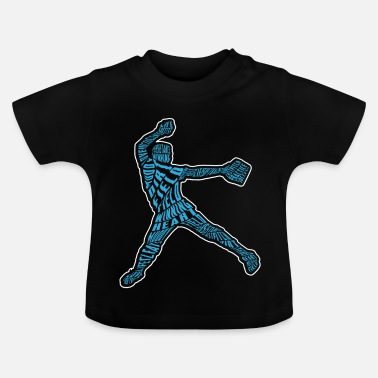Softboll Softball pitcher - Baby-T-shirt