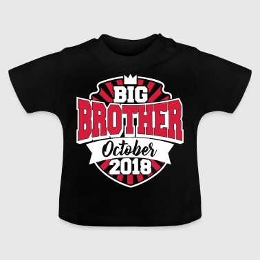 Big Brother oktober 2018-storebror 2018-baby - Baby-T-shirt