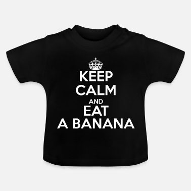 Keep Calm KEEP CALM - T-shirt Bébé