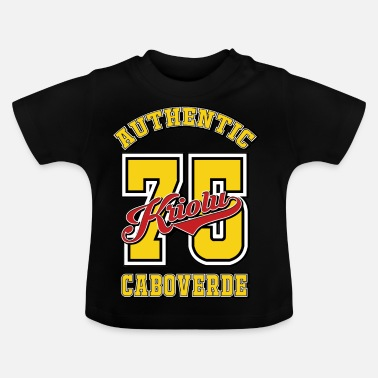 Cabo Verde Authentieke Kriolu Cabo Verde - Baby T-shirt