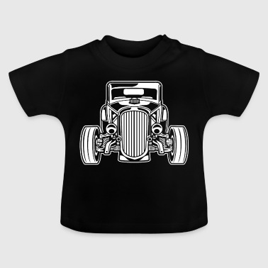 Hot Rod / Rat Rod 07_weiß - T-shirt Bébé