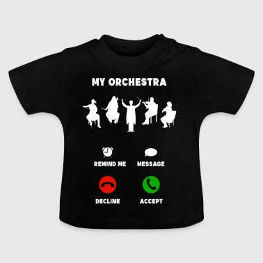Orchestra mobile musician funny gift - Baby T-Shirt