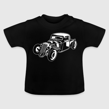 Hot Rod / Rat Rod 08_weiß - T-shirt Bébé