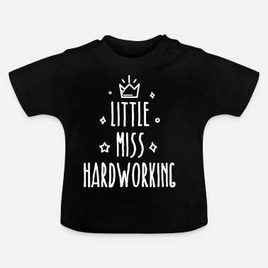 Little Italy Little miss Hårt - Baby-T-shirt