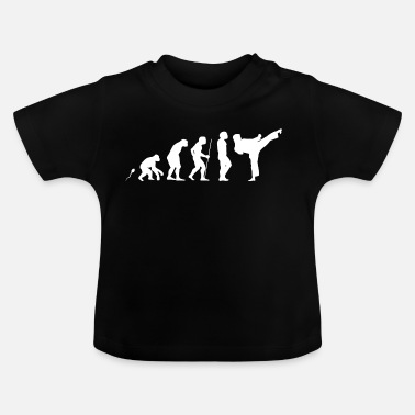 Kick karate kick - Baby T-shirt
