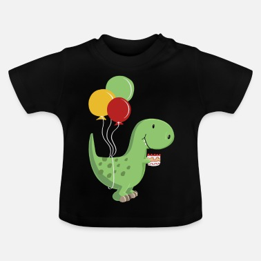 Happy Birthday-fødselaren T Rex Dinosaur - Baby T-shirt