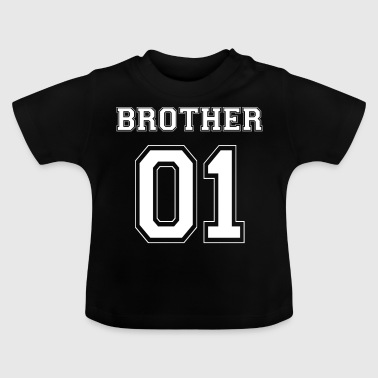 BROTHER 01 - WHITE EDITION - Vauvan t-paita