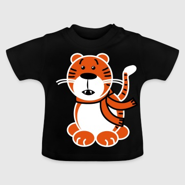 Tiger Junges tiger - Baby T-Shirt