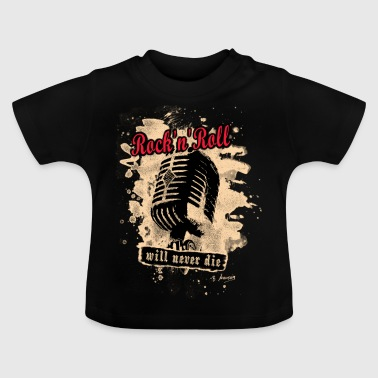 Rock-n-Roll Microphone - red - Baby T-Shirt