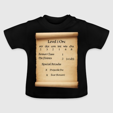 Level 1 Orc - Baby T-shirt