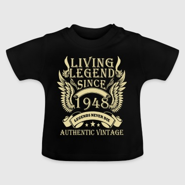 Living Legends Since 1948 Authentic Vintage - Baby-T-skjorte