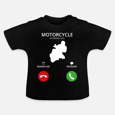 Mobile Call Mobile Phone - Baby T-Shirt