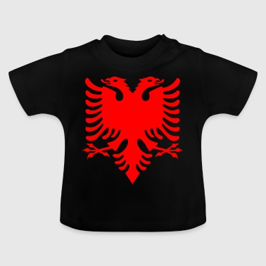 red double-head eagle Albanese Double Eagle - Baby T-shirt