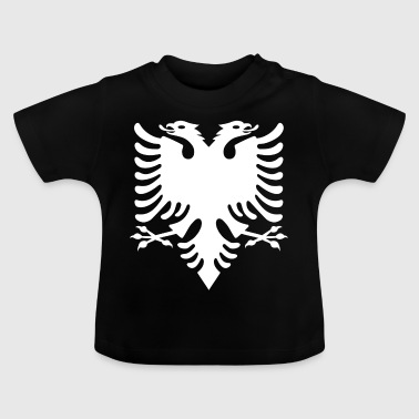 Albanian Eagle white Albanian eagle Albanian Double Eagle - Baby T-Shirt