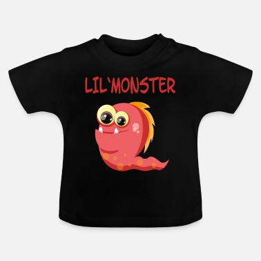 Snuggle Monster Lil Monster - Sayings Monster Collection - Baby T-Shirt