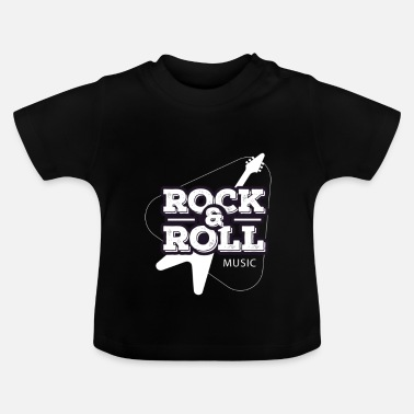 Rock And Roll Musique rock and roll - T-shirt Bébé
