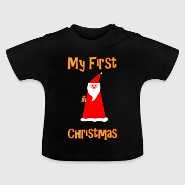 My first Christmas - Father Christmas - Baby T-Shirt