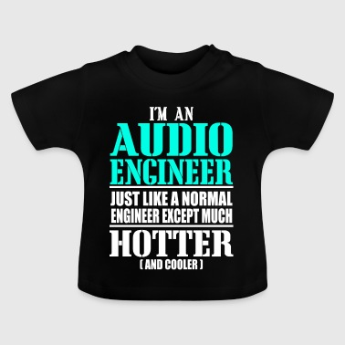 AUDIO ENGINEER - Camiseta bebé