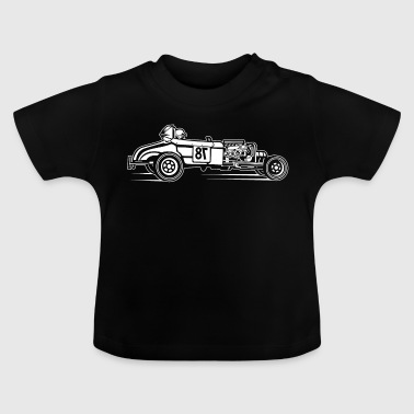 Hot Rod / Rat Rod 01_weiß - T-shirt Bébé