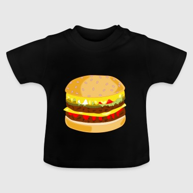 Hamburger hamburger - T-shirt Bébé