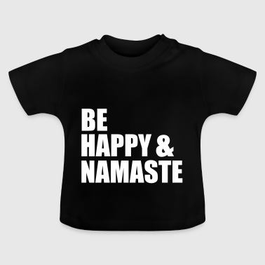 Yoga Training - Namaste - Méditez - T-shirt Bébé