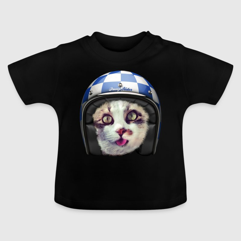 Chat motard - T-shirt Bébé