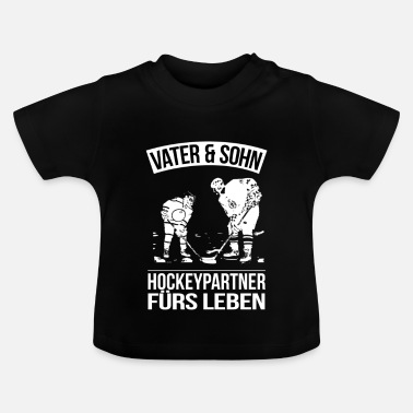 Vader En Zoon Vader Zoon Hockey Partners Life Family Gift - Baby T-shirt