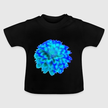 Flower Power II - Blue Edition - Baby T-shirt