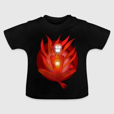 demon rouge - T-shirt Bébé