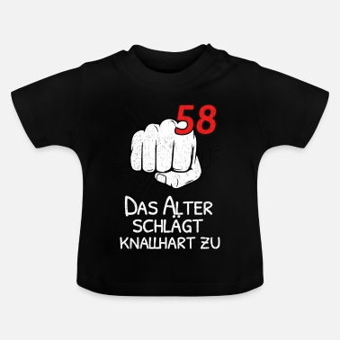 Poingt 58 L'AGE PROPOSE TOUGH! - T-shirt Bébé